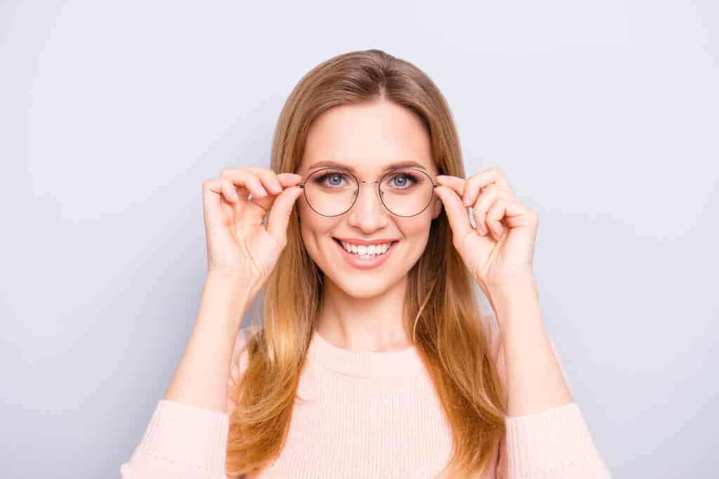 Ausstattung der Brillengläser