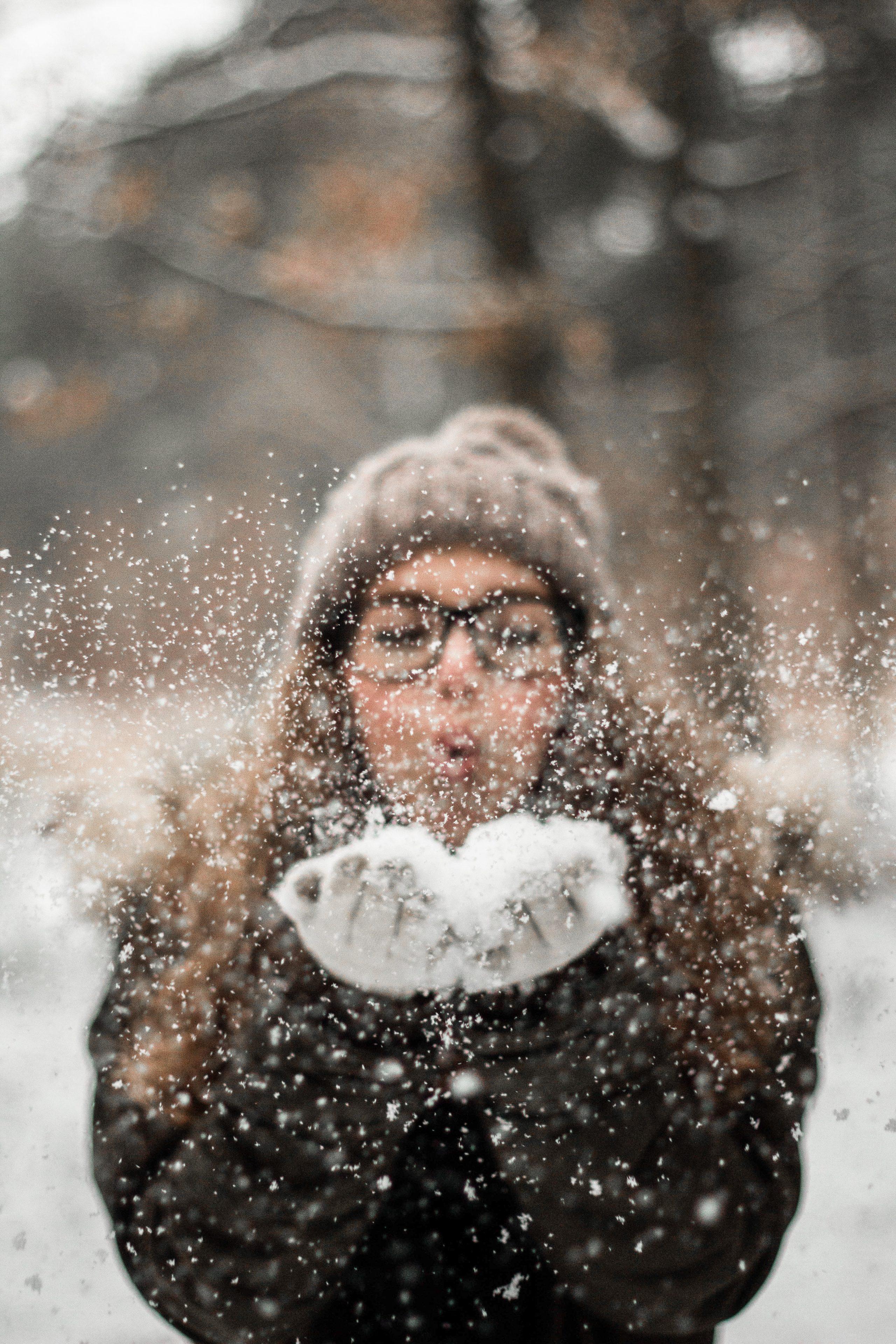 Klare Sicht im Winter