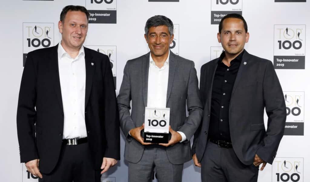 Preisverleihung Top-Innovator 2019