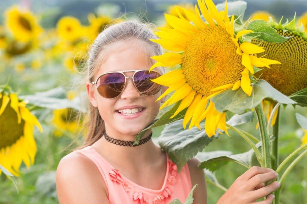 Frühlingssonne: Kinderaugen vor UV- und Infrarotstrahlen schützen