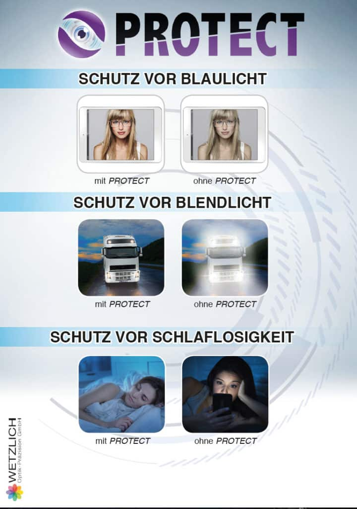A5 Protect Anzeige