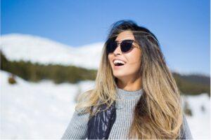 Augen im Winter schützen - vor UV- und Infrarot-Strahlen