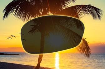 Selbsttönende Brillengläser - abgedunkelt