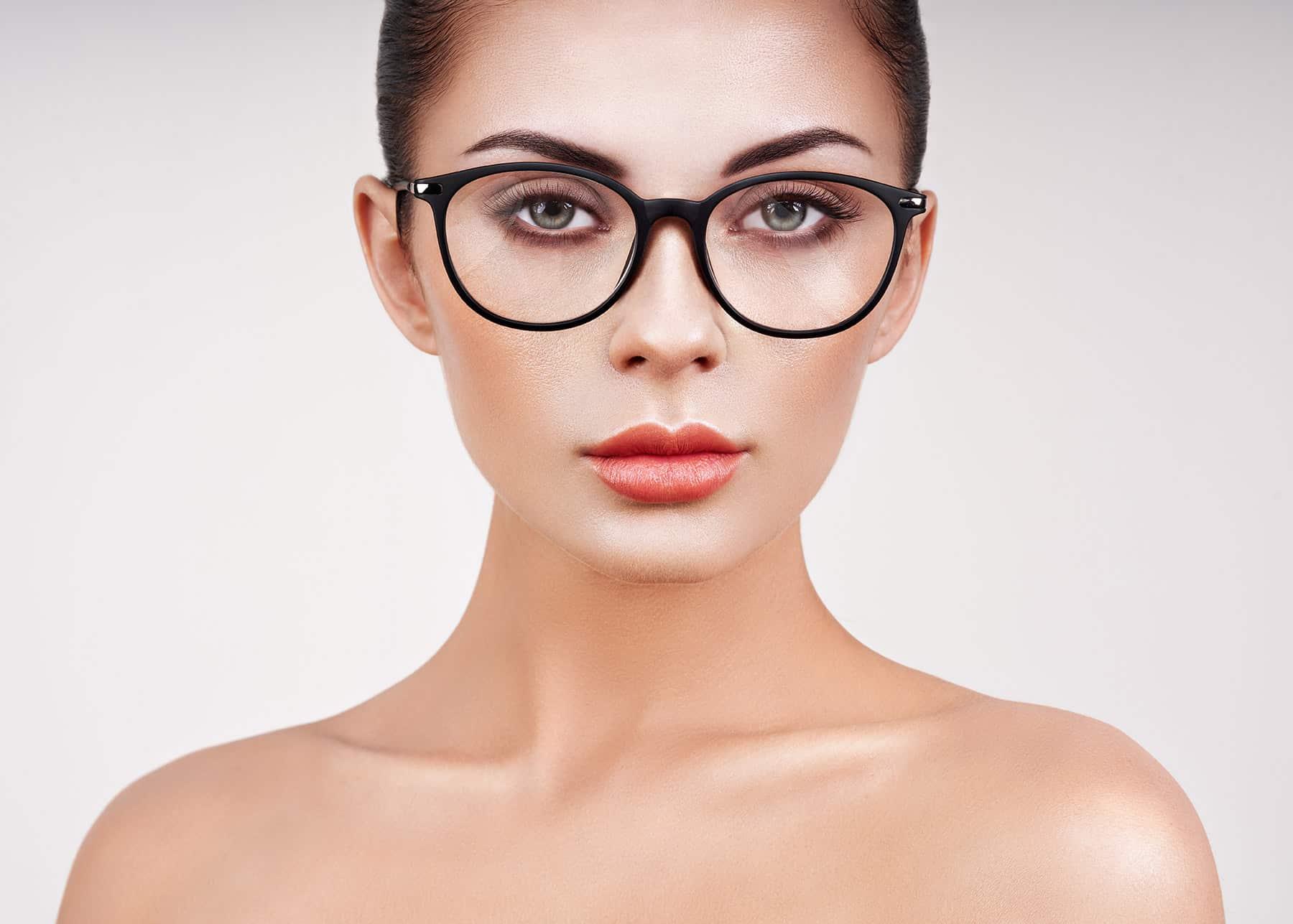 Brillenglas mit Saphir X Nuance Beschichtung