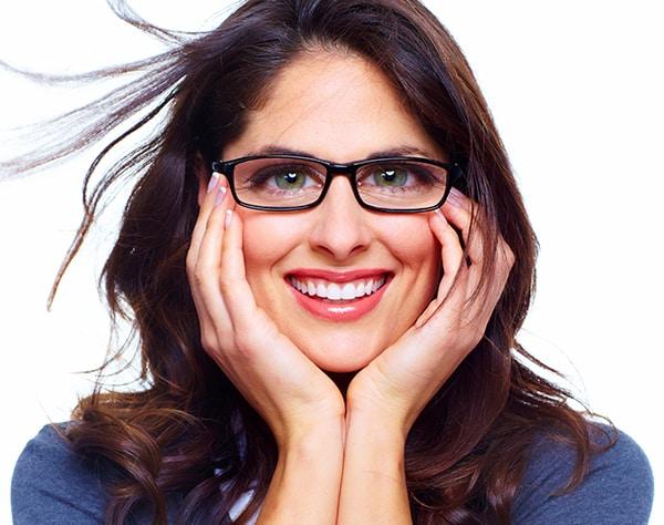 Spährische Einstärken-Brillengläser